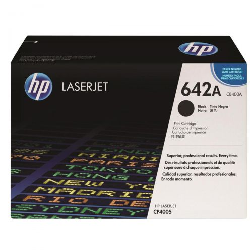 HP 642A Laser Toner Cartridge Page Life 7500pp Black Ref CB400A