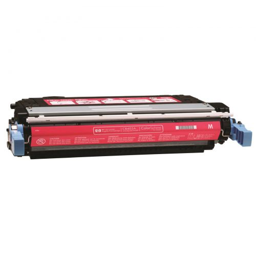 HP 642A Laser Toner Cartridge Page Life 7500pp Magenta Ref CB403A