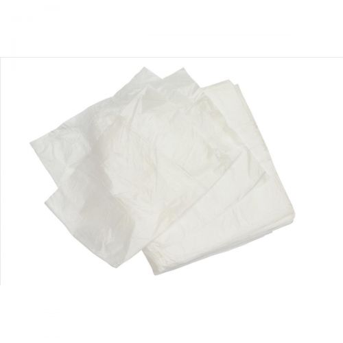 5 Star Facilities Bin Liners Light Duty 40 Litre Capacity W305/620xH590mm White [Pack 1000]