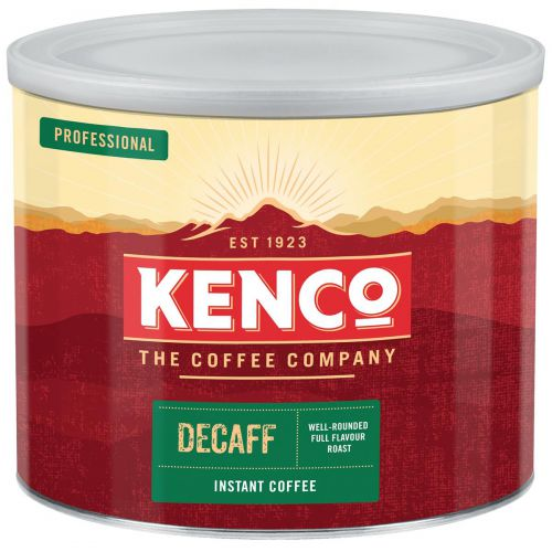 Kenco Decaffeinated Instant Coffee Tin 500g Ref 4032079