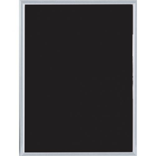 Photo Frame Clip-down Aluminium with Non-glass Perspex Front Back-loading A4 220x21x307mm Silver