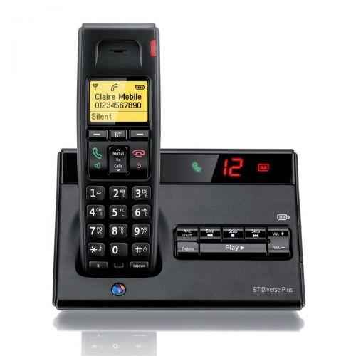 BT Diverse 7150 R DECT C/lss Phone/Answr
