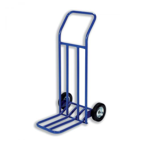 Hand Trolley Capacity 160kg Foot Size W565xL640mm Blue