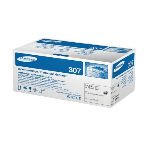 Samsung MLT-D307L Laser Toner Cartridge High Yield Page Life 15000pp Black Ref SV066A
