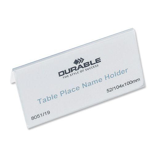 Durable Place Name Inserts -8051 145802
