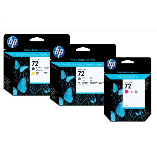 Hewlett Packard [HP] No.72 Inkjet Printhead Grey & Photo Black Ref C9380A