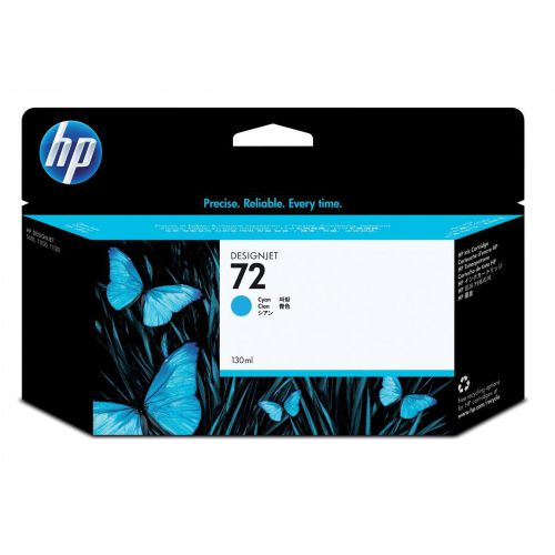 Hewlett Packard [HP] No.72 Inkjet Cartridge High Yield 130ml Cyan Ref C9371A