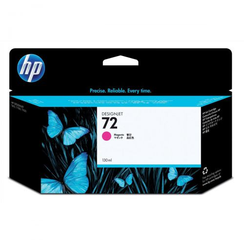 Hewlett Packard [HP] No.72 Inkjet Cartridge High Yield 130ml Magenta Ref C9372A