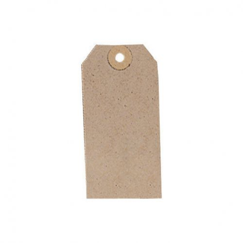Tag Label Unstrung 96x48mm Buff [Pack 1000]