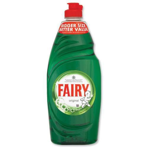 Fairy Original Washing-up Liquid 433ml Ref 1111111 [Pack 2]