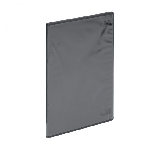 DVD Storage Case Standard Width Black [Pack 5]