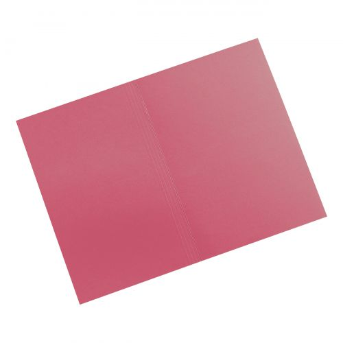 5 STAR ELT SQ CUT FOLDER 315GSM FCAP RED