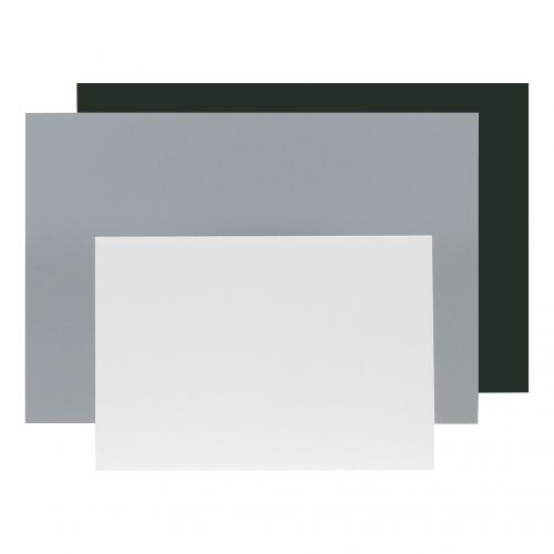 Display Board Lightweight Durable CFC Free W297xD5xH420mm A3 White [Pack 10] Ref WF5003