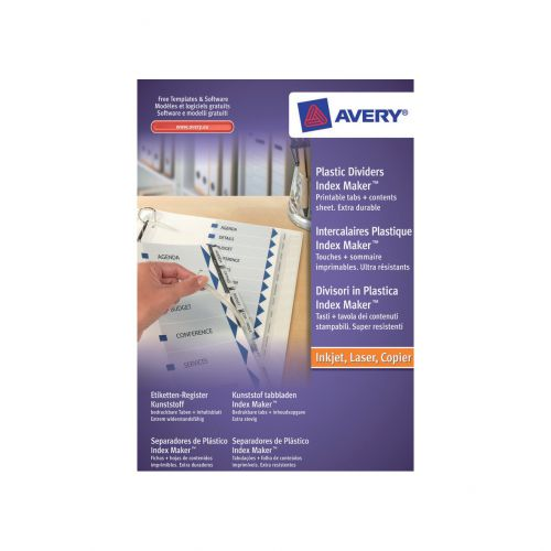 Avery IndxMaker Clear 5 Part 05111081