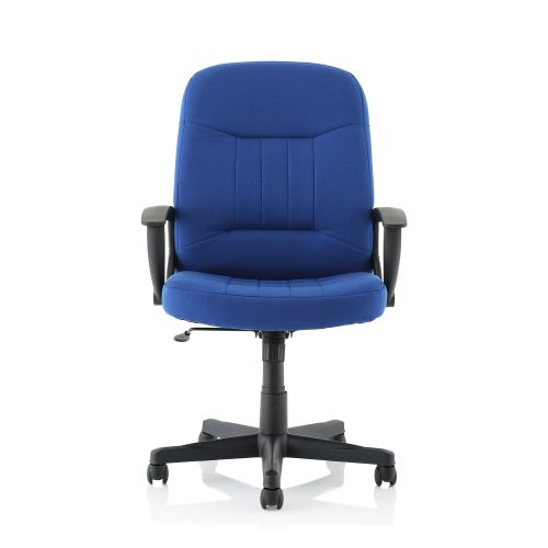 Trexus County Manager Chair Blue 520x420x420-520mm Ref 517059
