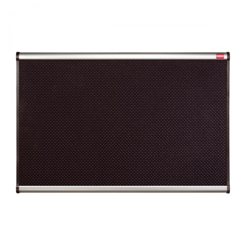 Nobo Prestige Noticeboard High-density Foam with Aluminium Finish W1200xH900mm Black Ref QBPF1290