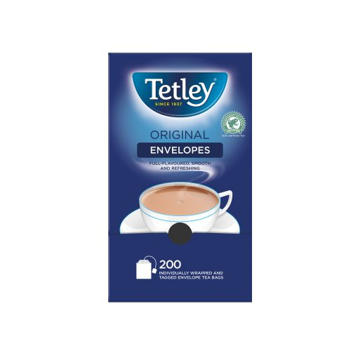 Tetley Tea Bags Tagged in Envelope High Quality Ref 1159B [Pack 250]