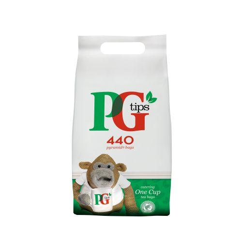 PG Tips Tea Bags Pyramid Ref 17949001 [Pack 440]