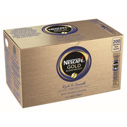NESCAFE GLD BLEND DECAF 1 CUP STICK P200