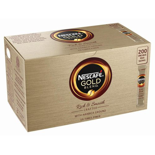 NESCAFE GOLD BLEND 1 CUP STICK PK200