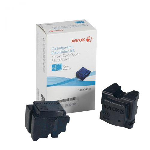 Xerox Solid Ink Sticks Page Life 4400pp Cyan Ref 108R00931 [Pack 2]