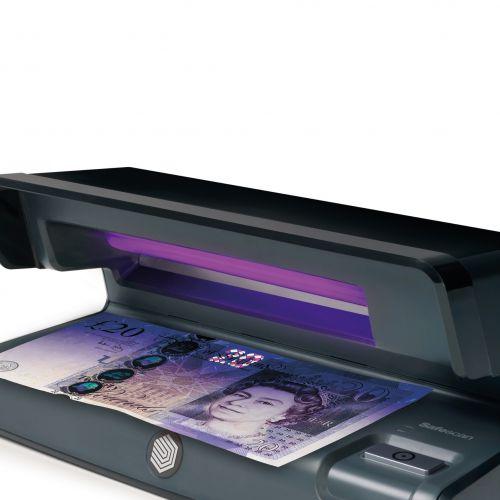 Safescan Counterfeit Detector 50 UV Checker W206xD102xH88mm Black Ref 131-0399
