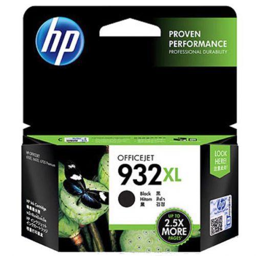 Hewlett Packard [HP] No.932XL Inkjet Cartridge High Yield Page Life 1000pp 22.5ml Black Ref CN053AE