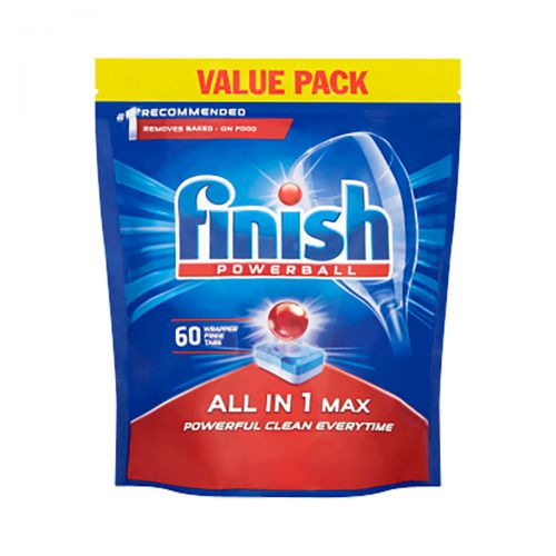 Finish Dishwasher Powerball Tablets All-in-1 Ref RB797730 [Pack 60]