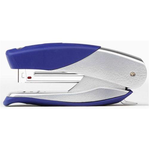 Rexel Matador Pro Stapler 70mm Throat Depth for 26/6 24/6 Silver and Blue Ref 2100951