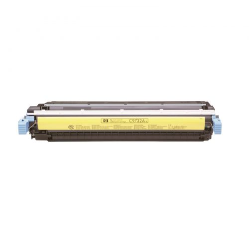 HP 645A Laser Toner Cartridge Page Life 12000pp Yellow Ref C9732A