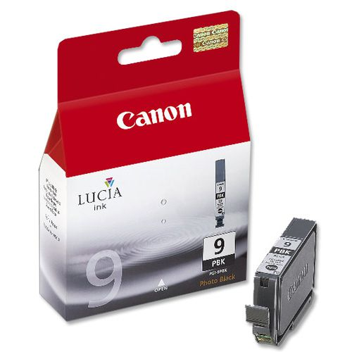 Canon PGI-9PBK Inkjet Cartridge Page Life 660pp Photo Black Ref 1034B001