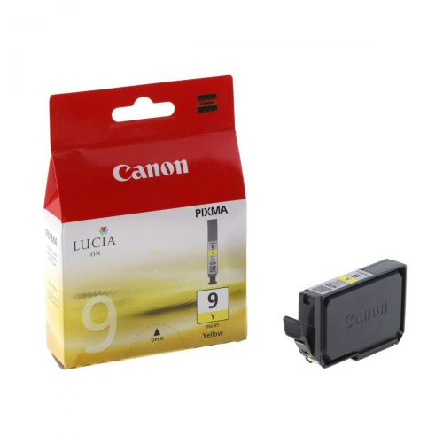 Canon PGI-9Y Inkjet Cartridge Page Life 560pp 14ml Yellow Ref 1037B001