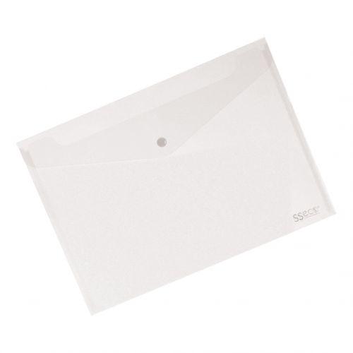 SSECO POPPER WALLET CLEAR 30085-CL