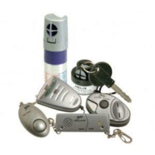 Personal Mini Alarm 100dB Silver