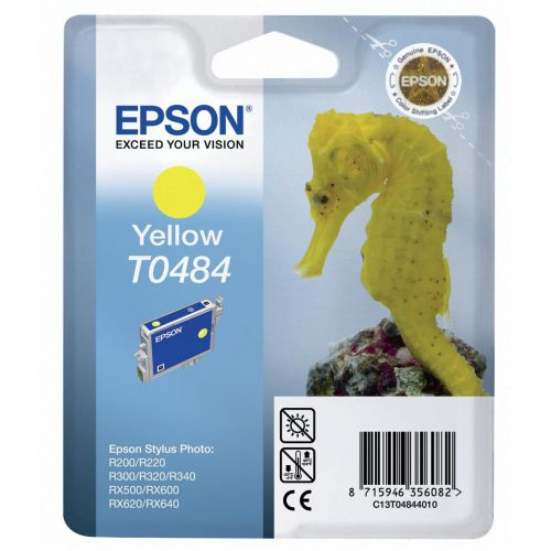Epson Inkjet Cartridge Page Life 400pp Yellow Ref T048440