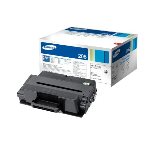 Samsung MLT-D205L Laser Toner Cartridge High Yield Page Life 5000pp Black Ref SU963A