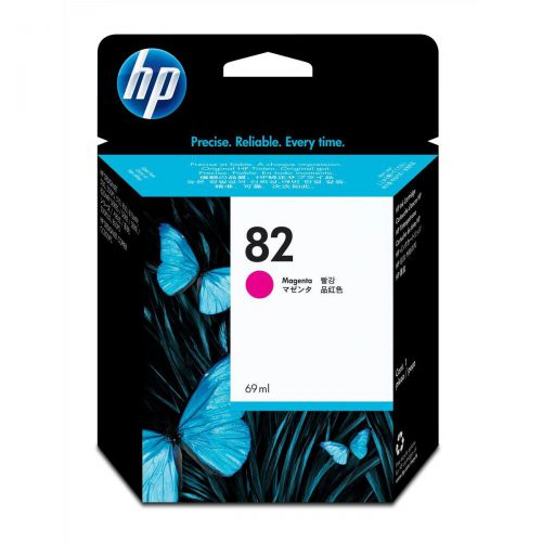 Hewlett Packard [HP] No.82 Inkjet Cartridge High Yield Page Life 1430pp 69ml Magenta Ref C4912A