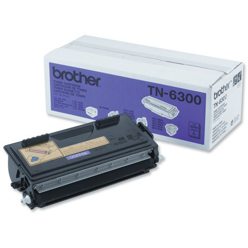 Brother Laser Toner Cartridge Page Life 3000pp Black Ref TN-6300