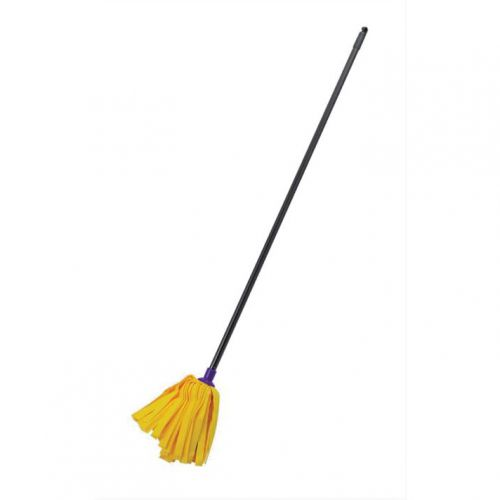 Addis Complete Cloth Mop Head & Handle With Blue Socket and Thick Absorbent Strands Ref 510241