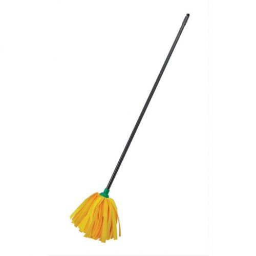 Addis Complete Cloth Mop Head & Handle With Green Socket and Thick Absorbent Strands Ref 510243