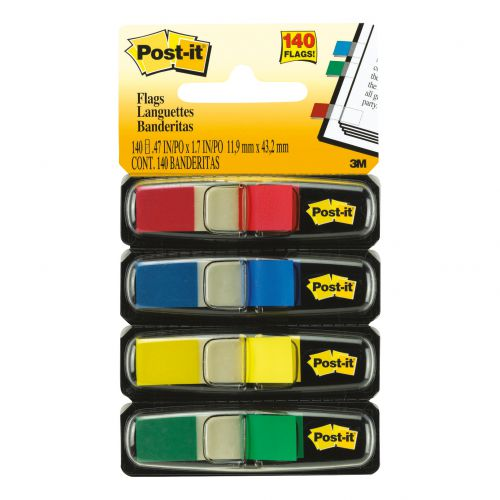 3M POSTIT INDEX REFILL 4COLOURS