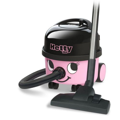 Numatic Hetty Vacuum Cleaner 620W 6 Litre 7.5kg W315xD340xH345mm Pink Ref 902289
