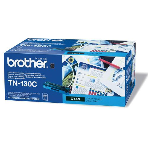 Brother Laser Toner Cartridge Page Life 1500pp Cyan Ref TN130C
