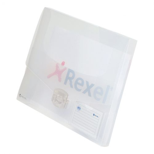 REXEL ICE DOC BOX 40MM CLEAR 2102029