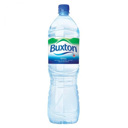 Buxton Natural Mineral Water Still Bottle Plastic 1.5 Litre Ref 742900 [Pack 6]