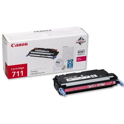 Canon 711M Laser Toner Cartridge Magenta Code 1658B002
