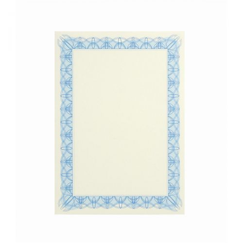 CERTIFICATE PAPERS 90G REFLEX BLUE PK30