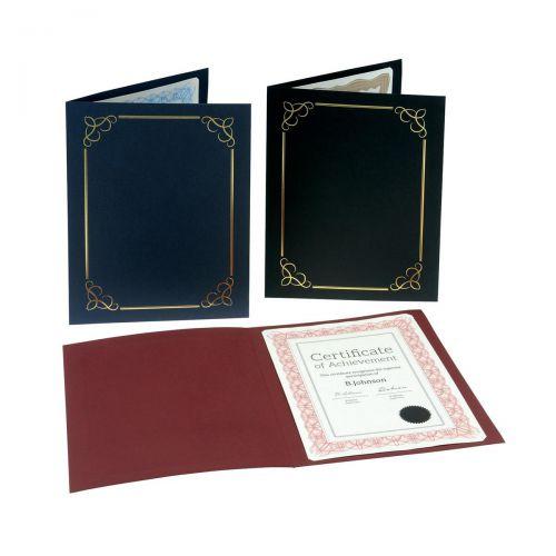 755626 Certificate Covers Linen Finish Heavyweight Card 240g