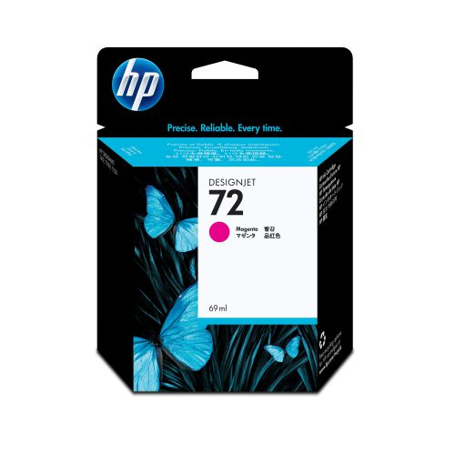 Hewlett Packard [HP] No.72 Inkjet Cartridge 69ml Magenta Ref C9399A