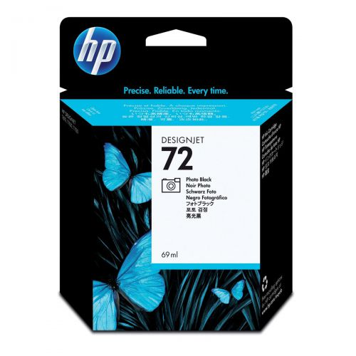 Hewlett Packard [HP] No.72 Inkjet Cartridge 69ml Photo Black Ref C9397A